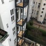 Balkonturm - Luplow & Karge Metallbau - Werder, Berlin